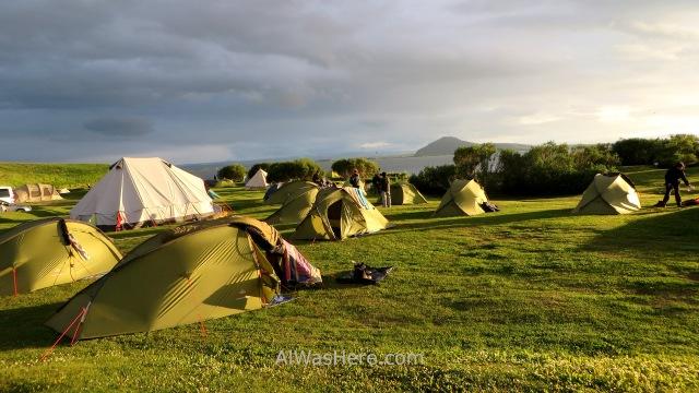 ISLANDIA 9. camping Myvatn tiendas para alquilar rent tent Iceland