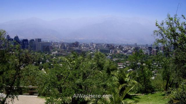 SANTIAGO DE CHILE 1. Cerro San Cristobal Parque Metropolitano (2)