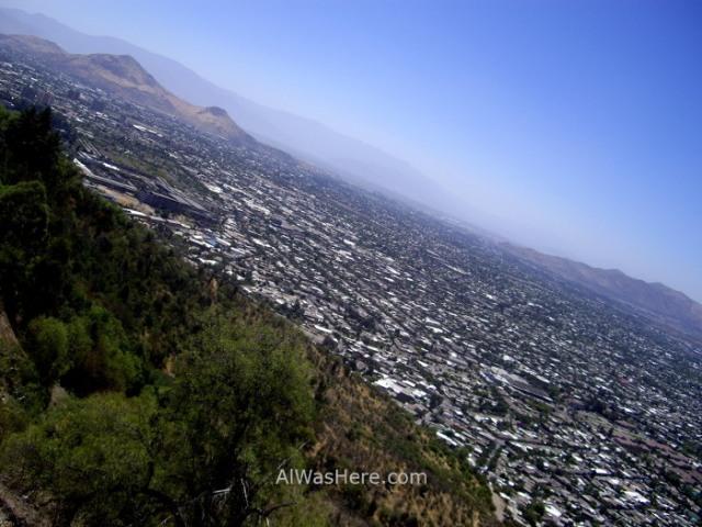 SANTIAGO DE CHILE 1. Cerro San Cristobal Parque Metropolitano (3)