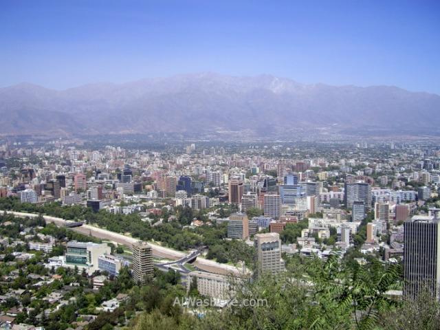 SANTIAGO DE CHILE 1. Cerro San Cristobal Parque Metropolitano (4)