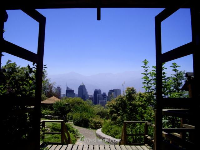 SANTIAGO DE CHILE 1. Cerro San Cristobal Parque Metropolitano Jardin japones Japanese garden (2)