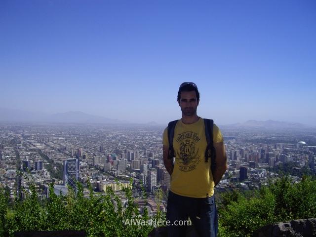 SANTIAGO DE CHILE 1. Cerro San Cristobal Parque Metropolitano