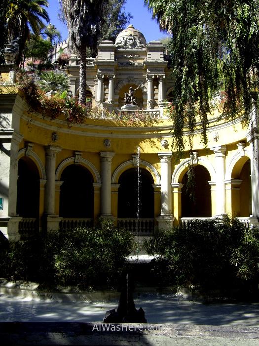 SANTIAGO DE CHILE 2. Cerro Santa Lucia (2)