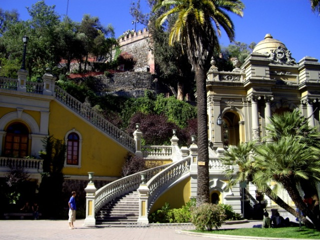 SANTIAGO DE CHILE 2. Cerro Santa Lucia (3)