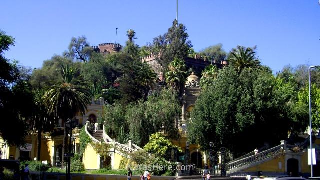 SANTIAGO DE CHILE 2. Cerro Santa Lucia