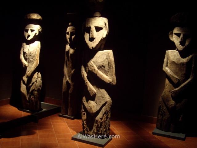 SANTIAGO DE CHILE 4. Museo Chileno de Arte Precolombino. Chilean museum of precolumbian art