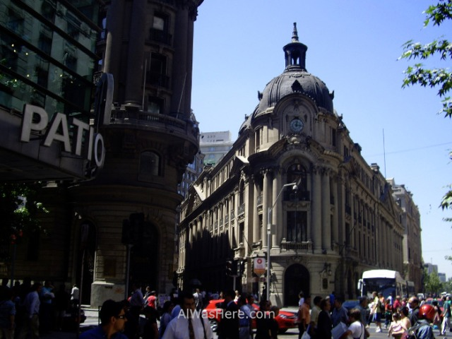 SANTIAGO DE CHILE 6. Centro historico city center centre (2)