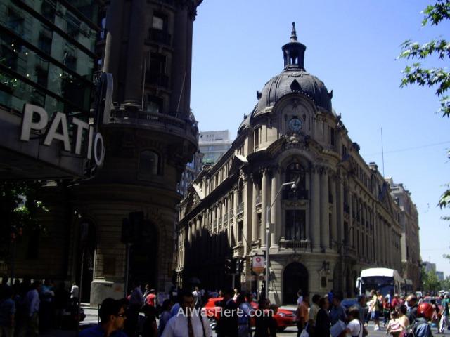 SANTIAGO DE CHILE 6. Centro historico city center centre (2)