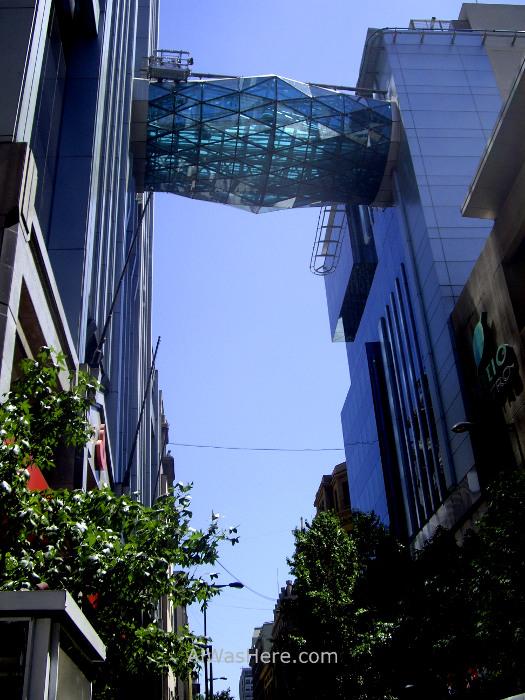 SANTIAGO DE CHILE 6. Centro historico city center centre