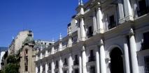 Fachada del Palacio de la Moneda