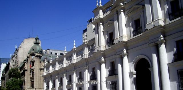 SANTIAGO DE CHILE 7. Palacio de la Moneda