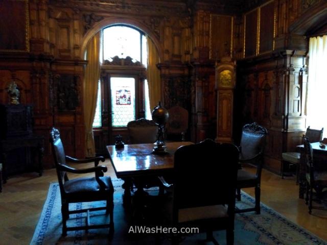 CASTILLO DE PELES 2. sala room castle, Sinaia Rumania Romania