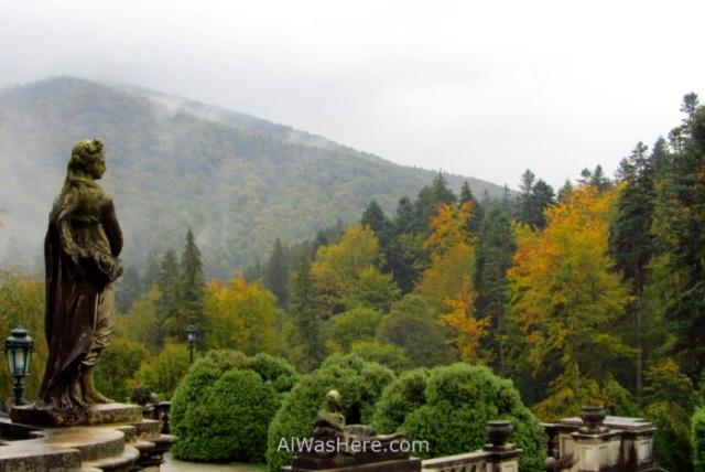 CASTILLO DE PELES 3. jardines gardens bosque forest castle, Sinaia Rumania Romania (3)