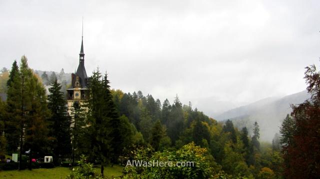 CASTILLO DE PELES 3. jardines gardens bosque forest castle, Sinaia Rumania Romania