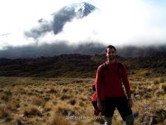 Con el Monte Ngauruhoe