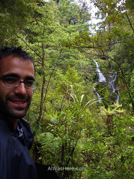 ABEL TASMAN NATIONAL PARK 2 Torrent Bay High Tide Track Cascade Falls parque nacional, Nueva Zelanda New Zealand