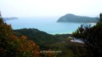 Vista de Anchorage Bay, Abel Tasman NP, Nueva Zelanda