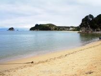 En Abel Tasman están algunas de las mejores playas de Nueva Zelanda