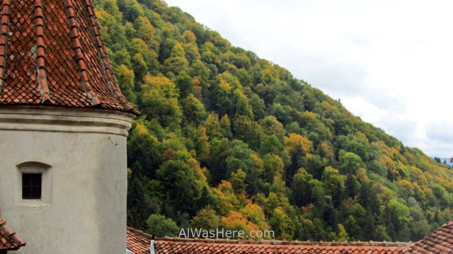 CASTILLO DRACULA 8 vistas views Bran Castle Transilvania Rumania Transylvania Romania