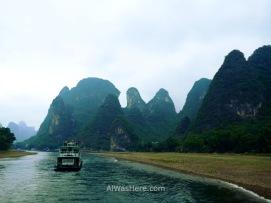 Tras Xingping aun quedan zonas magníficas que contemplar