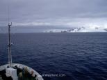 Avisatando por primera vez las Islas Shetland del Sur