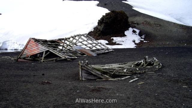 Antártida 2 Deception Island Decepcion Antarctica Bahia Balleneros whalers Bay (2)