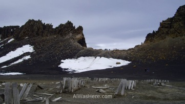 Concretamente, desde esta rotura en el filo de la caldera volcánica