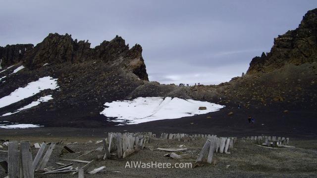 Antártida 2 Deception Island Decepcion Antarctica Bahia Balleneros whalers Bay