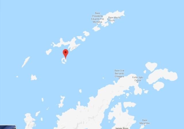 Deception Island decepcion Mapa