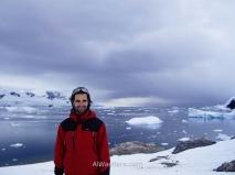 Pisando por primera vez la Península Antártica