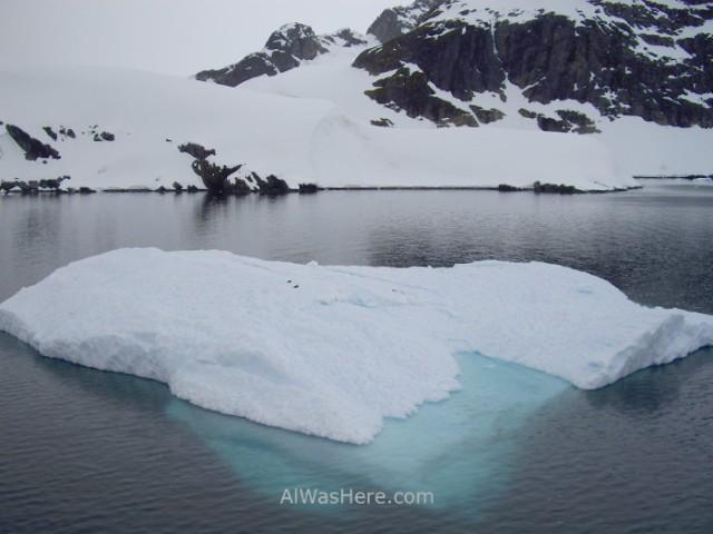 Antartida Puerto o Bahia Paraiso, Antarctica Paradise Bay, Skontorp Cove