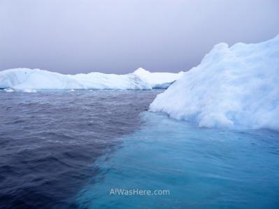 Icebergs más planos